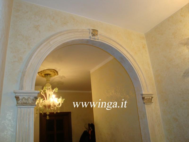 Archi decorativi per interni fioriera con grigliato plastica for Elementi divisori per interni