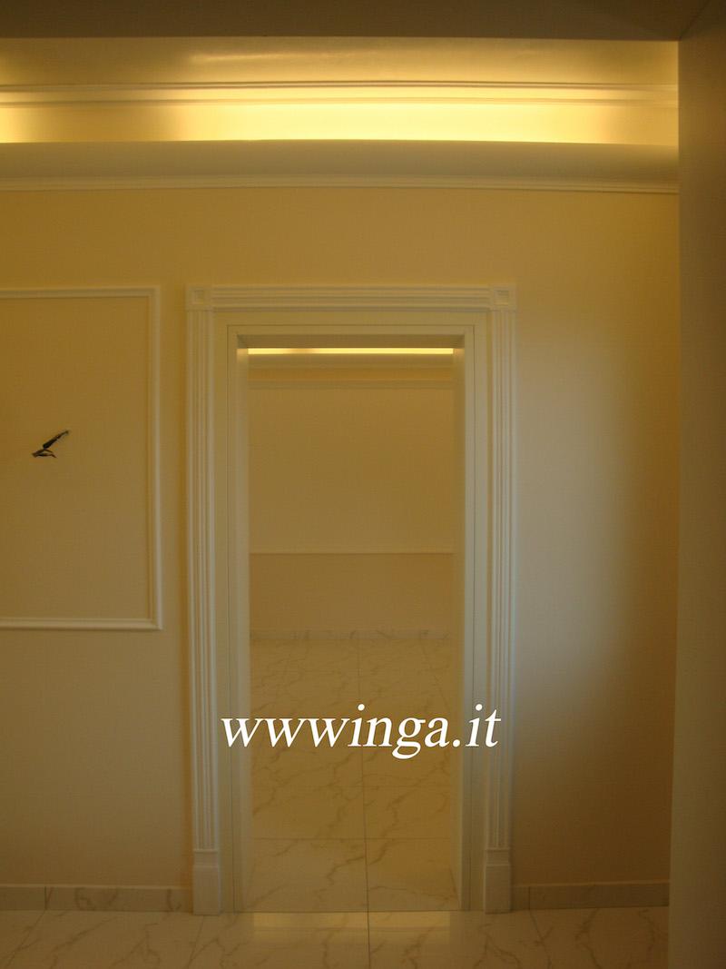 Cornici coprineon cornici luce diffusa produzione stucchi - Decorazioni in gesso ...